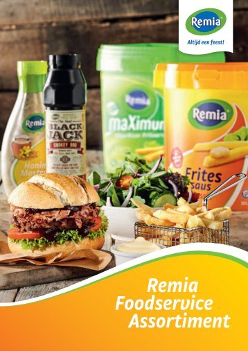 Remia Foodservice Assortiment