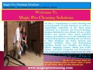 House Cleaning Dana Point, CA  Magic Pro Cleaning Solutions