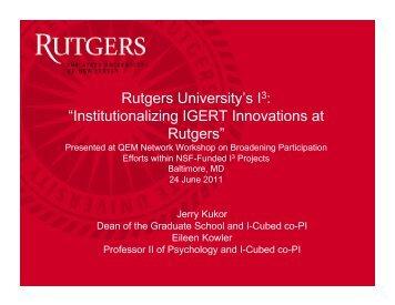 Highly selective: 25 - 30 scholars per summer ... - (QEM) Network