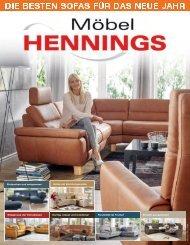 Möbel Hennings Sofa-Trends 2017