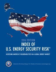 U.S ENERGY SECURITY RISK