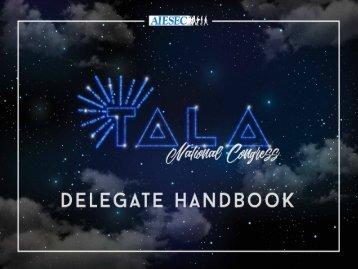 TALA 2016 Delegate Handbook 1.1