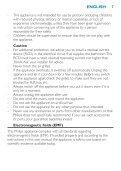 Philips Sèche-cheveux - Mode d'emploi - FAS - Page 7
