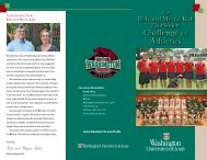 Challenge for Athletics Challenge for Athletics - Washington ...