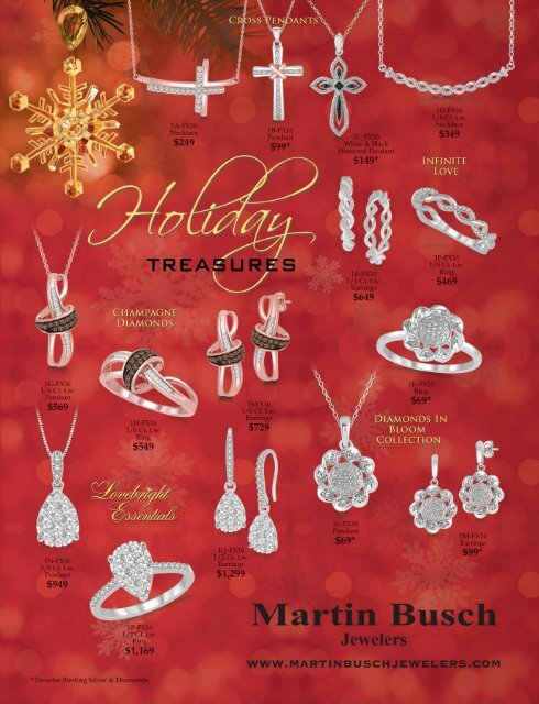 Martin Busch Jewelers Holiday Treasure 2016