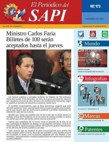 Ministro Carlos Faria Billetes de 100 serán aceptados hasta el jueves