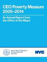 CEO Poverty Measure 2005–2014