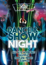 Dance & Show Night 2016 - Das Magazin