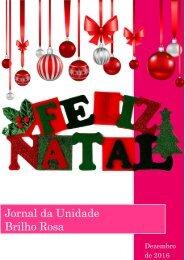 Jornal Brilho Rosa. Edição: dezembro, 2016