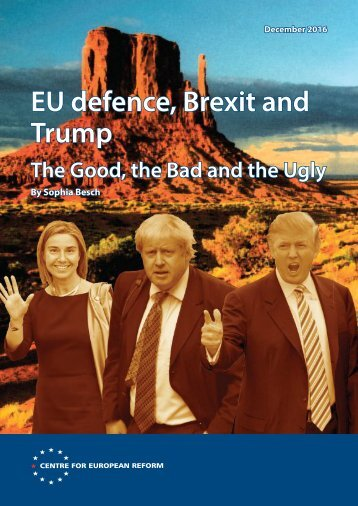 EU defence Brexit and Trump