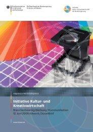 PDF: 4,4 MB - Initiative Kultur- und Kreativwirtschaft