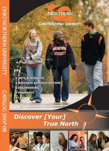Discover [Your] True North - Ohio Northern University
