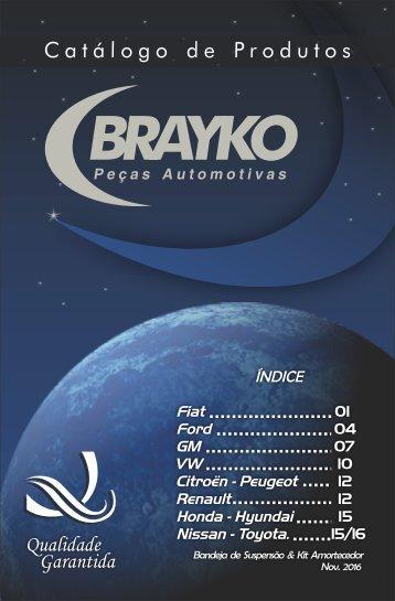 Catalogo Brayko Completo Nov.  2016