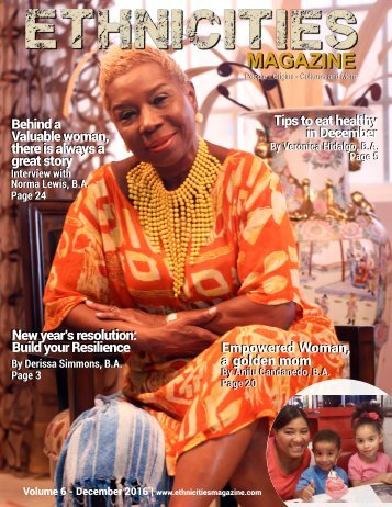 Volume 6 - December Ethnicities Magazine