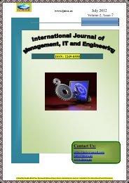 2249-0558 - International Journals of Multidisciplinary Research ...