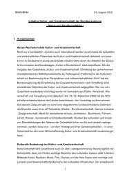 und Kreativwirtschaft der Bundesregierung - Status - Initiative Kultur ...