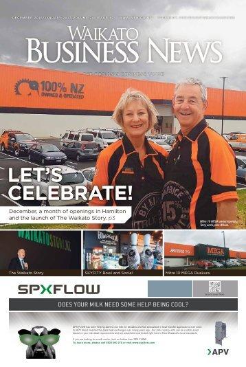 Waikato Business News December 2016/January 2017