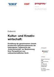 KWF - Initiative Kultur- und Kreativwirtschaft