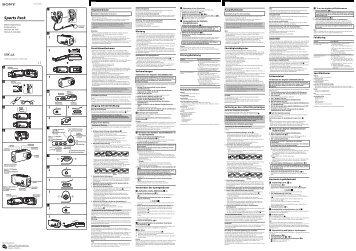 Sony SPK-LA - SPK-LA Istruzioni per l'uso