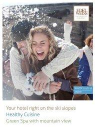 Winter brochure Edelweiss Naturhotel Wagrain