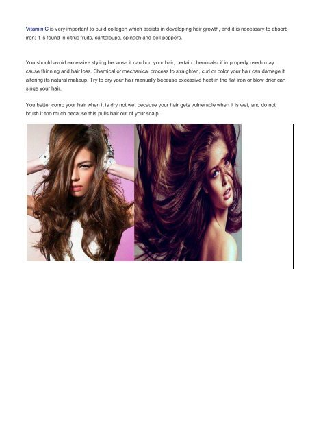 Good tips to have fuller and more vibrant hair