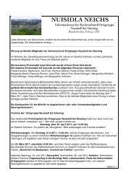 NUISIDLA NEICHS - Seniorenbund Ortsgruppe Neusiedl