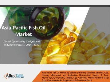 Asia Pacific Fish Oil Market