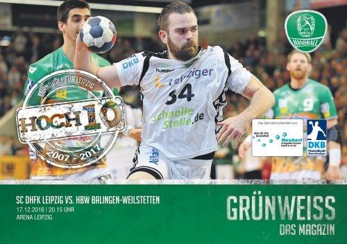 GRÜNWEISS – das Magazin der DHfK-Handballer – Heft 10 – Saison 2016/17