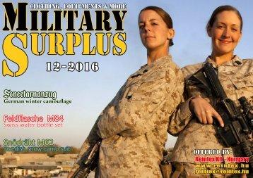 Military Surplus 12-2016