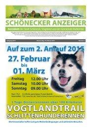 Schönecker Anzeiger Februar 2015