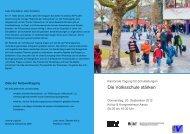 Netzwerktagung 15 - Programm - Schulen Aargau