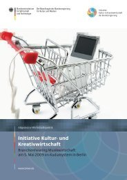 PDF: 5,1 MB - Initiative Kultur- und Kreativwirtschaft