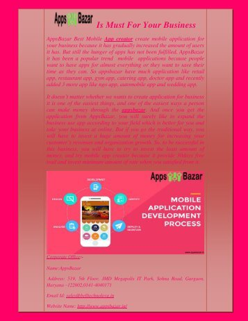How Appsbazar Is Must For Your Business