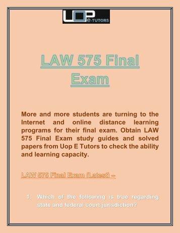 Professor sullivan ucc final exam massachusetts school of law uop e tutors law 575 final exam answers law 575 week 4 fandeluxe Image collections