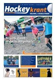 Hockeykrant Veluwe/IJsselstreek Najaar 2016