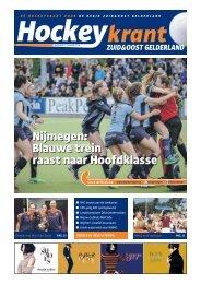 Hockeykrant Zuid&Oost Gelderland Najaar 2016