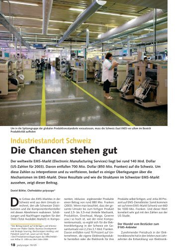 EMS Special - Binkert Medien AG