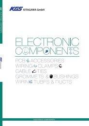 Katalog Kitagawa - Elektronické komponenty