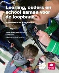 Leerling, ouders en school samen voor de loopbaan, brochure