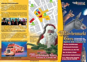 Flyer Weihnachtsmarkt (application/pdf 459.0 KB) - Stadt Gera
