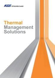 Katalog Kitagawa - Thermal Managment Solution