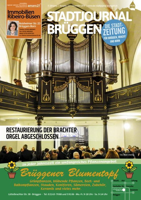Stadtjournal Brüggen_Dez 2016