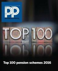 Top 100 pension schemes 2016