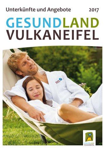 Unterkünfte und Angebote im GesundLand Vulkaneifel 2017