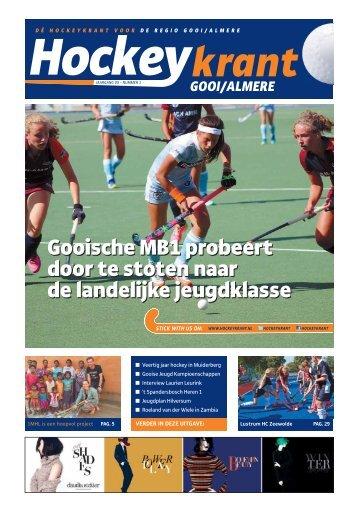 Hockeykrant Gooi/Almere Najaar 2016