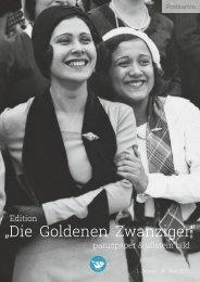 """Edition """"Die Goldenen Zwanziger"""" paruspaper & ullstein bild - 2017"""