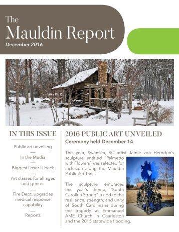 Mauldin Report | December 2016