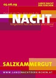 SALZKAMMERGUT - Lange Nacht der Kirchen