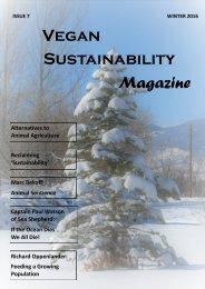 Vegan Sustainability Magazine - Winter 2016