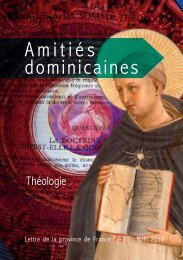Amitiés dominicaines 73